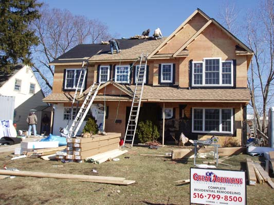 Full Dormer with 2nd Floor Addition