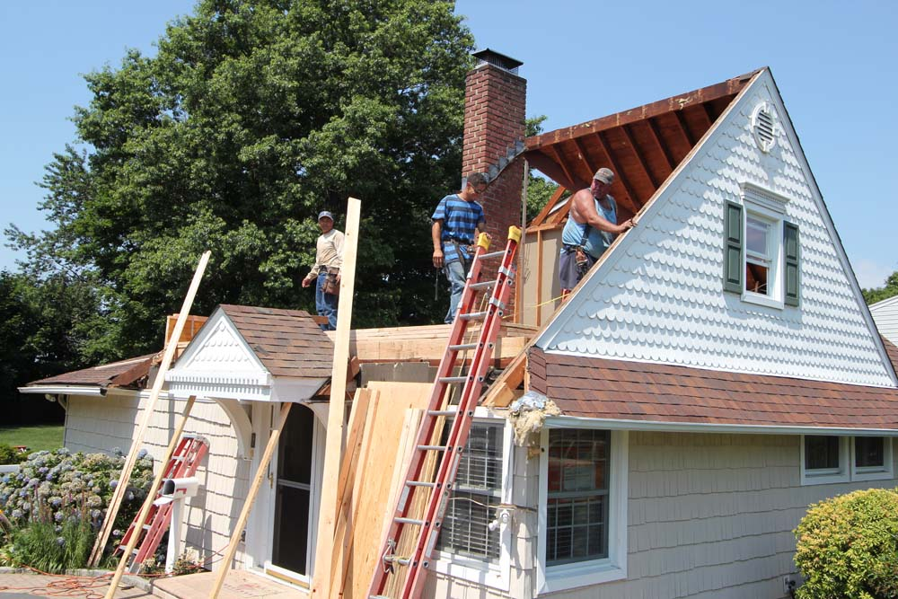 Levittown Ny Partial Front Dormer With Bath