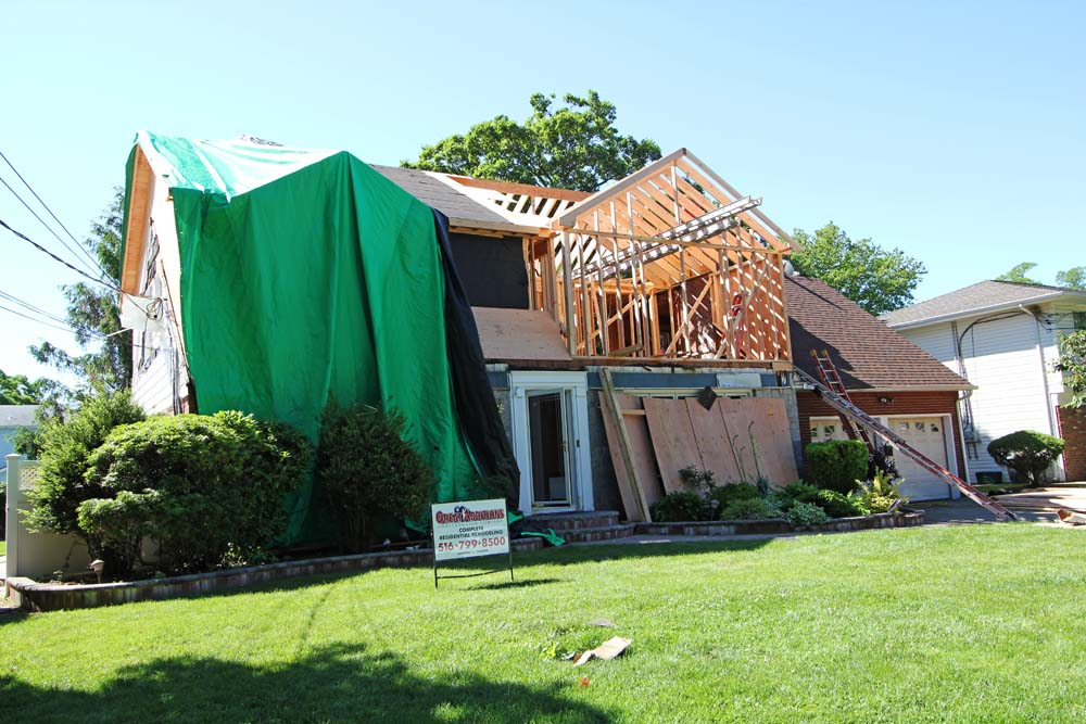 East Meadow Ny Full Dormer On An Expanded Cape