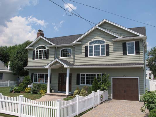 Oceanside ny full dormer with 2nd floor addition over for Second story additions to ranch homes