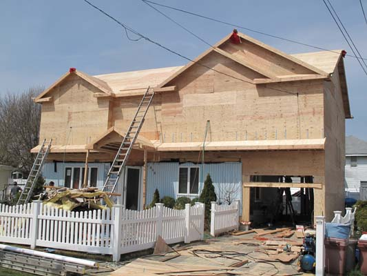 Oceanside Ny Full Dormer With 2nd Floor Addition Over